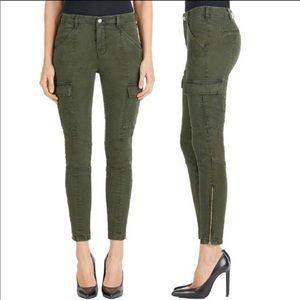 J Brand Houlihan Mid-Rise Skinny Cargo Pants!
